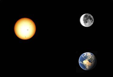 sunce i mesec slika